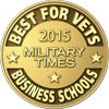 2015 Military Times Best for Vets Business School logo