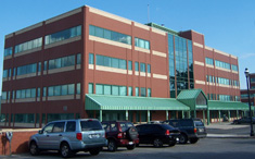Photo of building where Empire State College has its Newburgh, NY office