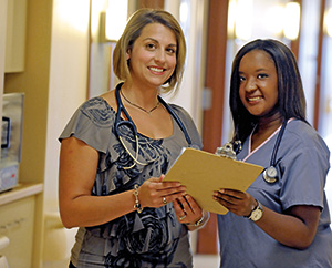 Nurses with Chart