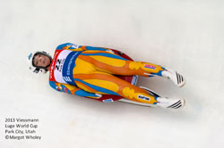 SUNY Empire State College alumna Erin M. Hamlin '11 will compete in her third consecutive Winter Olympic Games in luge, women's singles.