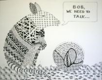 """Bob, we need to talk,"" by mentor Toni Raiten-D'Antonio."
