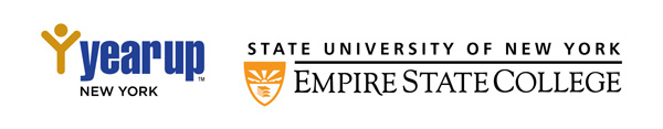 Year Up New York and SUNY Empire State College logos
