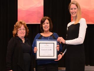 Rosemary Liedke Receives Excellence in Support Services Award