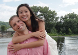 Kalon Riehle and his wife, Wenling, live in Cicero, N.Y.