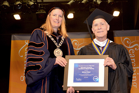 Mitchell Wood, SUNY Empire State College Chancellor's Award