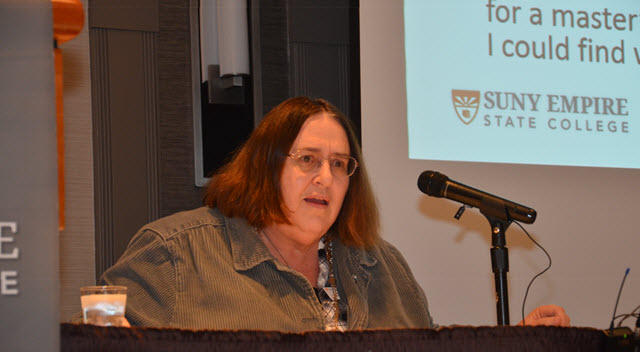 Gayle Stever Delivers Susan H. Turben Faculty Lecture