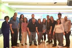 Staten Island location students and faculty enjoyed an evening of bowling.