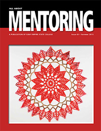 red and white doiley