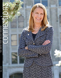Connections Fall 2013 cover with Merodie Hancock