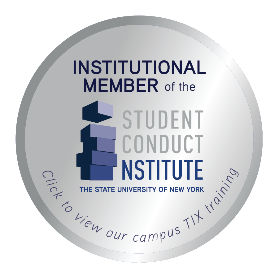 Link to Student Conduct Institute TIX training